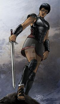 Reenah.... Of The Black Dragons by StalinDC