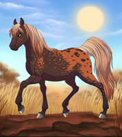 Element: Fire -horse- by FutureHopeSolo