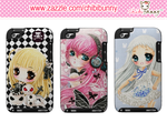 Cute anime girls Ipod Touch cases by tho-be