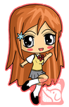 Orihime Chibi by IcyPanther1