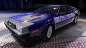 Dr Whooves Delorean by Crystal-Eclair