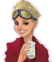 Holtzmann - Ghostbusters Fan Art by DaveJorel