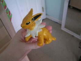 Finished Jolteon by doryphish333