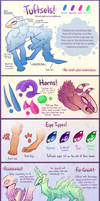 Tuftsels Species Reference by Sadbloom
