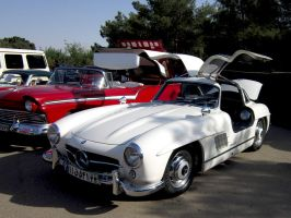Mercedes Benz 300SL Gullwing by enxo7