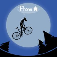 hipster phones home by nfouque