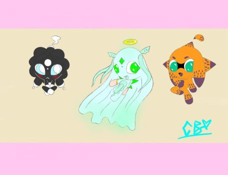 My Chao Babies by SonicBionicle