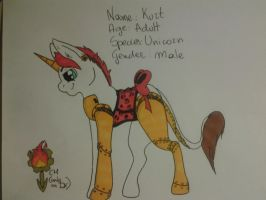 .:Kurt the steampunk pony:. by PrinceUseless