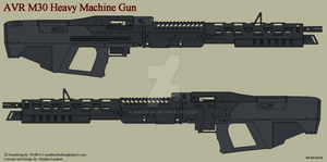 Avatar M30 Machine Gun by Wolff60