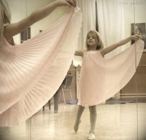 dance_little ballerina by tina-puksic