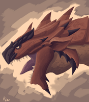 Rathalos by Keilink