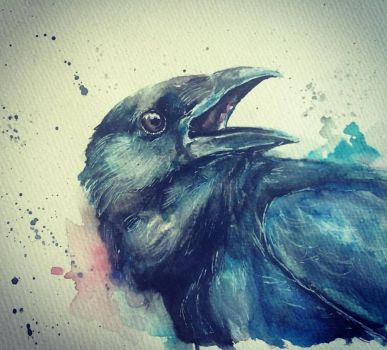 Nevermore. by lefemmeartiste