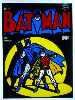 Batman No. 9 Stained Glass Panel by DarkeVitrum