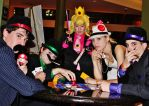 Super Mafia Bros - Poker by BaconFlavoredCosplay