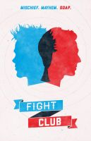 Fight Club poster by billpyle