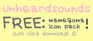 FREE Mamegoma Pack by UnheardSounds