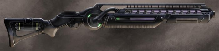 Rifle concept by Flycan
