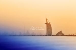 The golden morning by ahmedwkhan