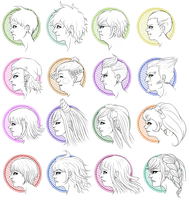 my SDR2 headcanons wooo by Jhiffi