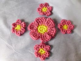 Flower Appliques by Alicia1018