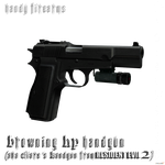 FN Browning HP by DamianHandy