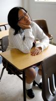 The School Girl 14 by MajesticStock