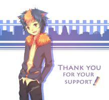 3K Watchers Thank you! by Pluvias