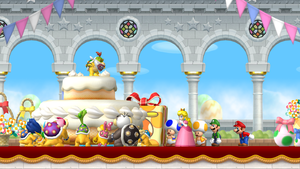 New Super Mario Bros - Wii in UHD 3360x1890 by uhd4k