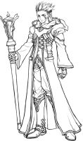 Concept sketch - Mage by windship