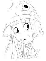 Eruka Lineart by D-Aare