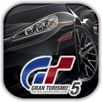 Gran Turismo 5 Game Icon 2 by Wolfangraul