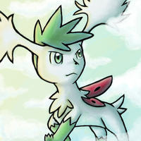 Shaymin of various skies and the like by The-Cactus-Runner