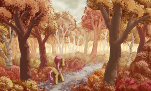 Autumn Stroll by MoreVespenegas