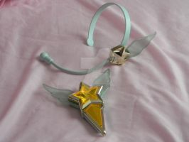 Starlights Headset and Brooch by Super-Moogles