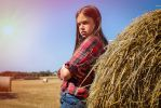 Farmers daughter by PaulCastleton