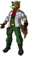 fox mccloud here by unoservix