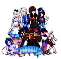 TTB R1:Yami no kuni Alice [Appassionato Cantabile] by Live-forget