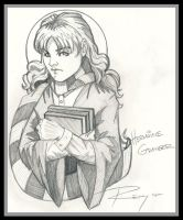 Hermoine Granger by Drawingremy