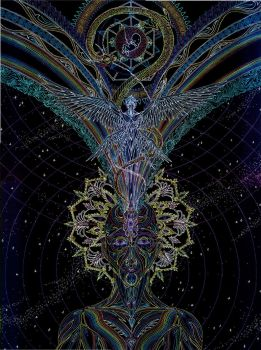 The Birth of Consciousness - Enlightenment by Lakandiwa