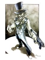 NYCC SKetch - Mad Hatter by DanielGovar