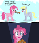 Something's wrong with Derpy by TrotPilgrim