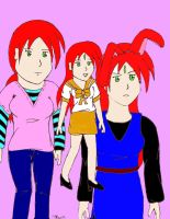 Three Lives Colored by Salanti
