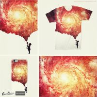 The universe in a soap-bubble!!! T-Shirt by mrsbadbugs