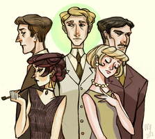 The Great Gatsby by nebula-tea