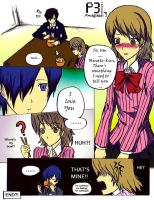 P3 Confession Colored by animE-fan7