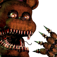 FNAF 4 - Freddy Nightmare[Un-withered] by Christian2099