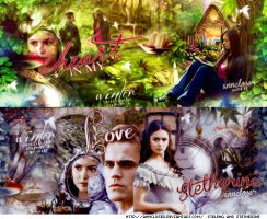 Stelena And Stetherine by AnnCloser