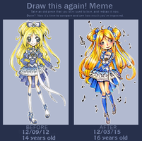 Cure Clef Draw This Again Meme by Chancetodraw