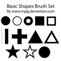 brushes: basic shapes by Mjag