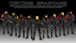 Orions Spartans by JamesBryce